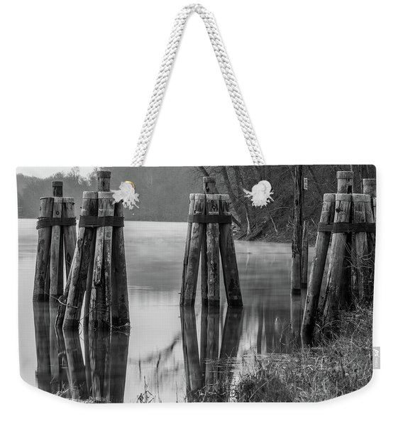 Connecticut River At Dawn Weekender Tote Bag