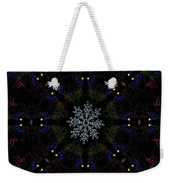 Continuous Christmas Lights Weekender Tote Bag