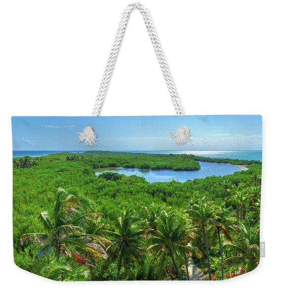 Contoy Island Weekender Tote Bag