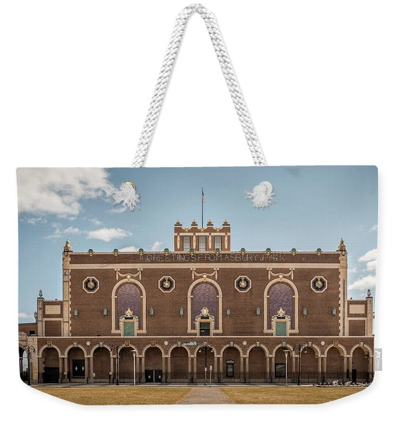 Convention Hall Weekender Tote Bag