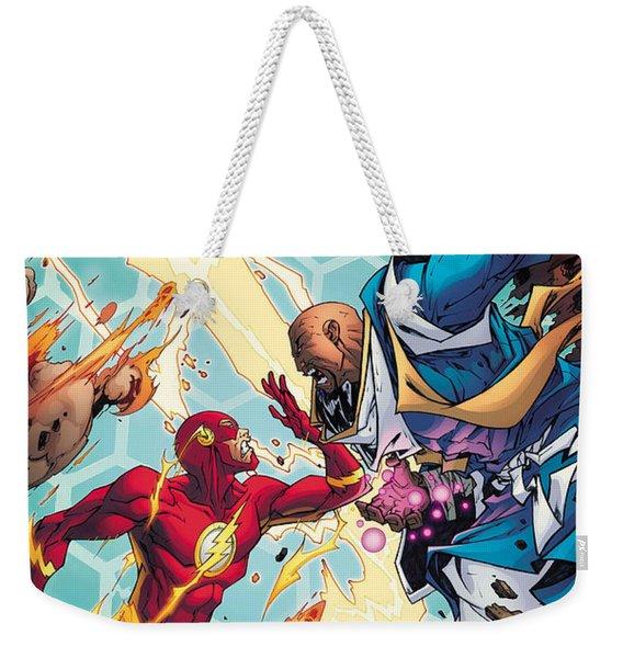 Convergence Flash Weekender Tote Bag