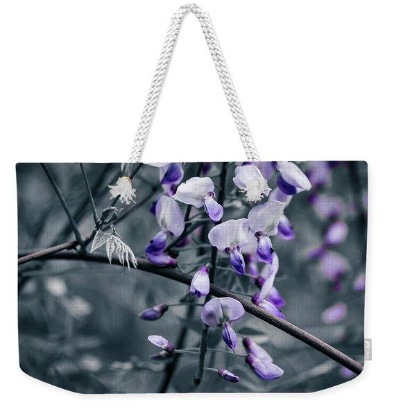 Cool Blue Of Spring Weekender Tote Bag