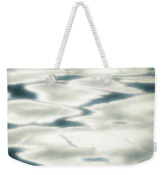 Cool Tranquility Weekender Tote Bag