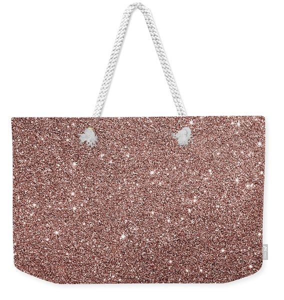 Cooper Glitter Weekender Tote Bag