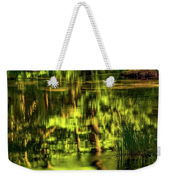 Coquille Forest Reflections Weekender Tote Bag