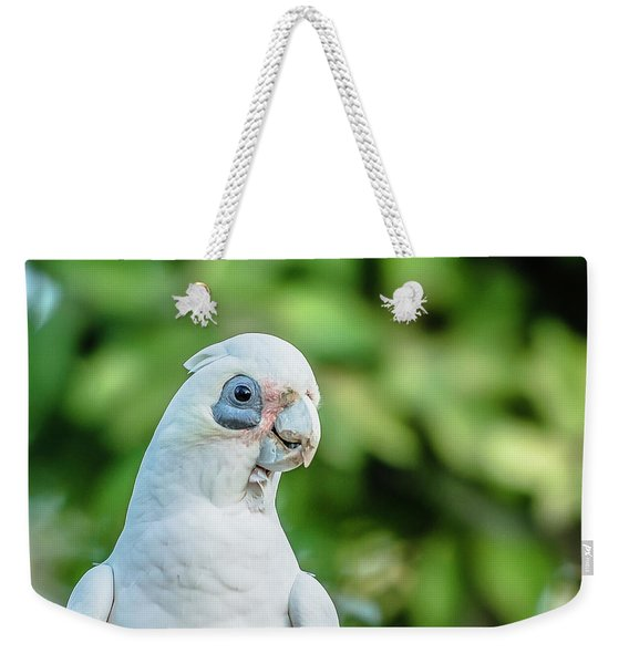 Corellas Outside During The Afternoon. Weekender Tote Bag