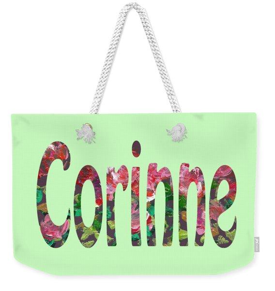 Corinne Weekender Tote Bag