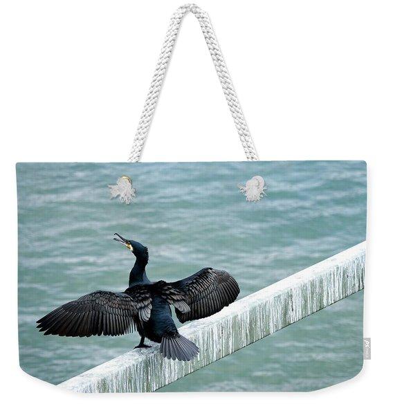 Cormorant Roosting Place Weekender Tote Bag