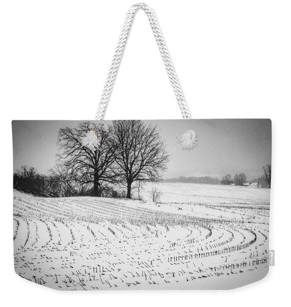 Corn Snow Weekender Tote Bag