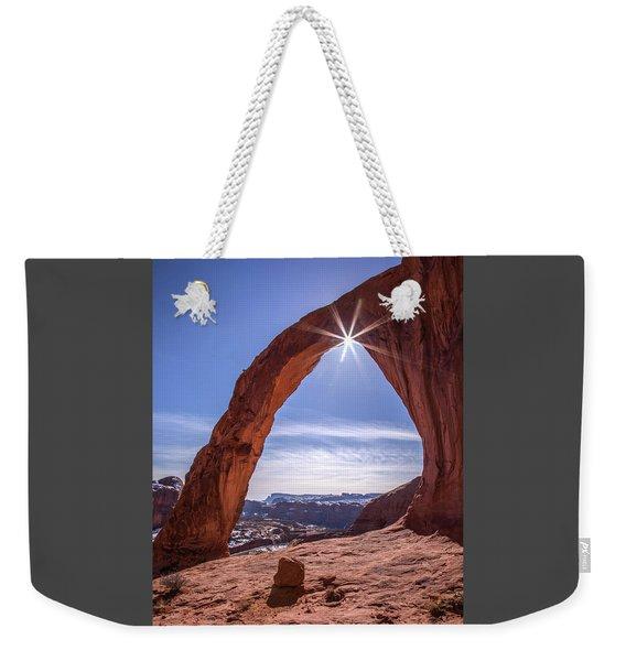 Corona Arch Sunburst Weekender Tote Bag