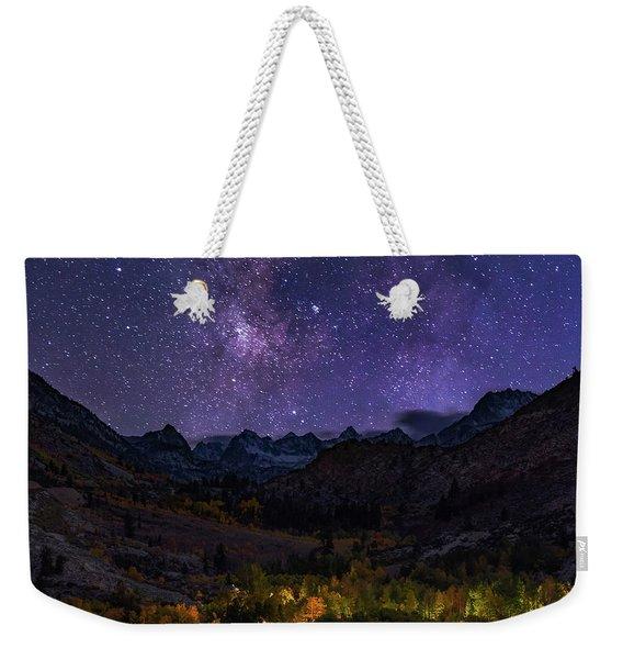 Cosmic Nature Weekender Tote Bag