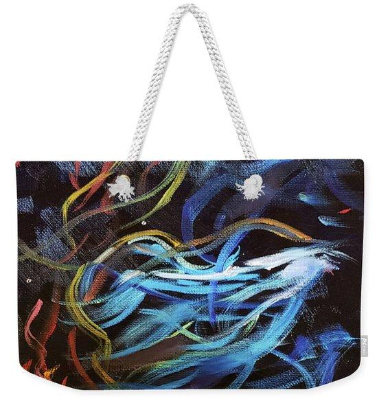 Cosmos Weekender Tote Bag