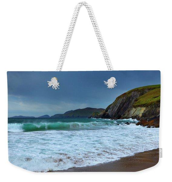 Coumeenoole Beach At Slea Head, Dingle Weekender Tote Bag