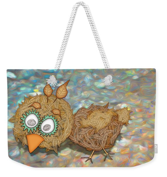 Count Your Chicken Weekender Tote Bag