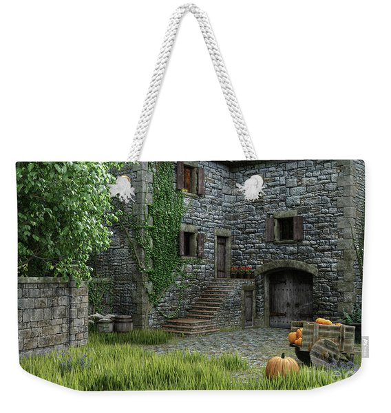 Country Farmhouse Weekender Tote Bag