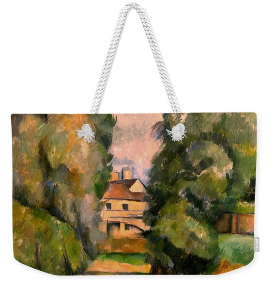 Country House By A River, Around 1890 Weekender Tote Bag