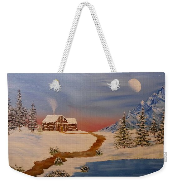 Country Retreat Weekender Tote Bag