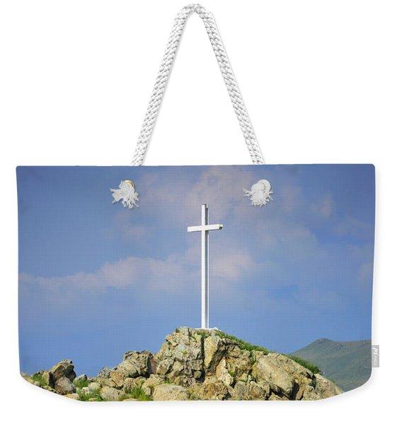 Countryside Cross Weekender Tote Bag