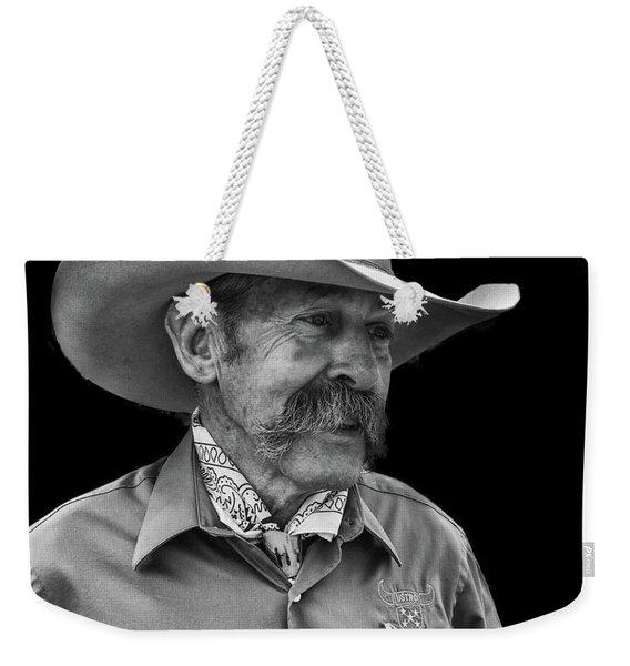 Cowboy Weekender Tote Bag