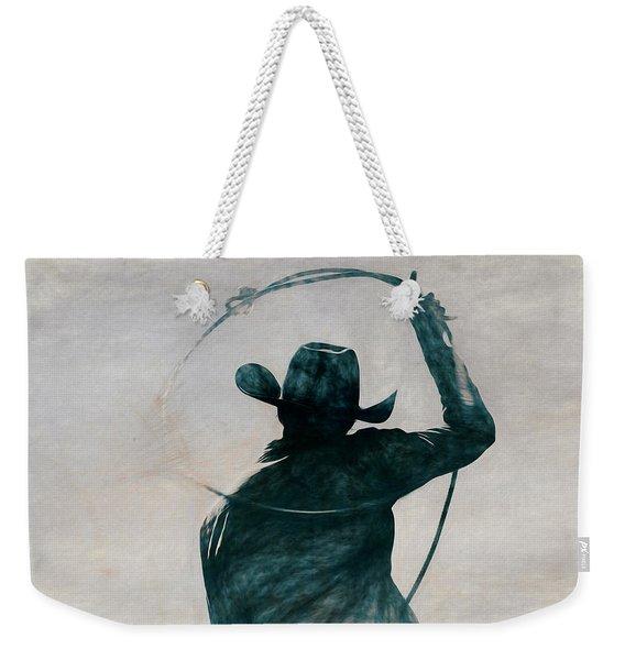 Cowgirl Blue Weekender Tote Bag