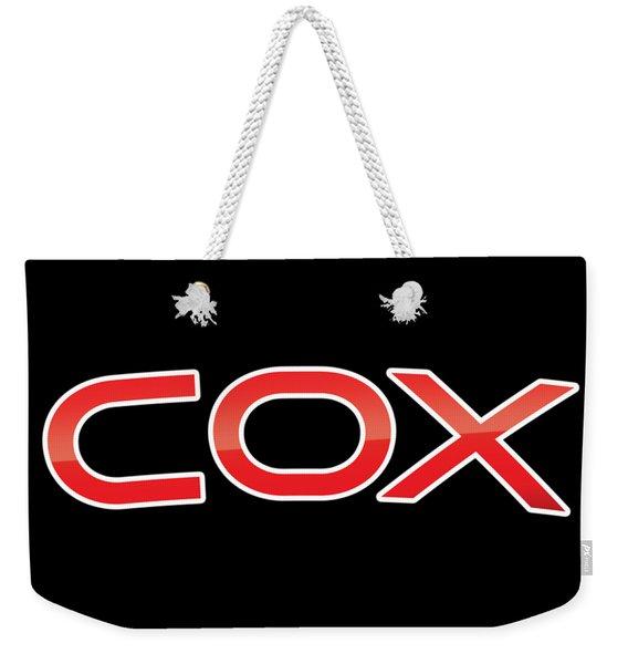 Cox Weekender Tote Bag