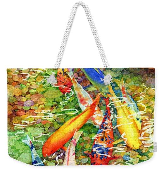 Coy Koi Weekender Tote Bag