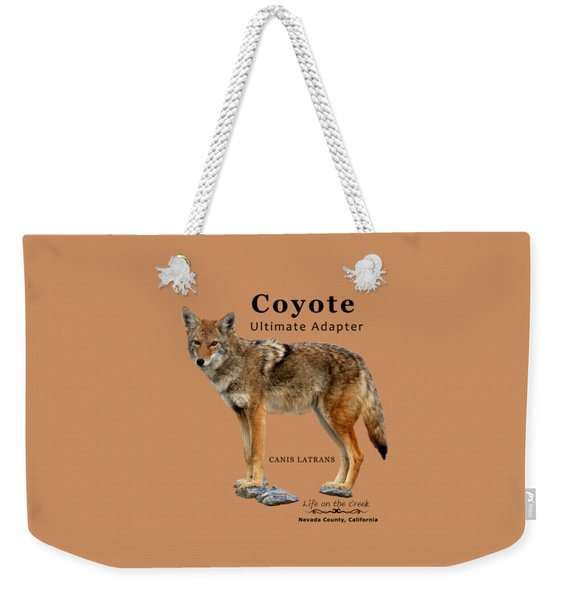 Coyote Ultimate Adaptor Weekender Tote Bag