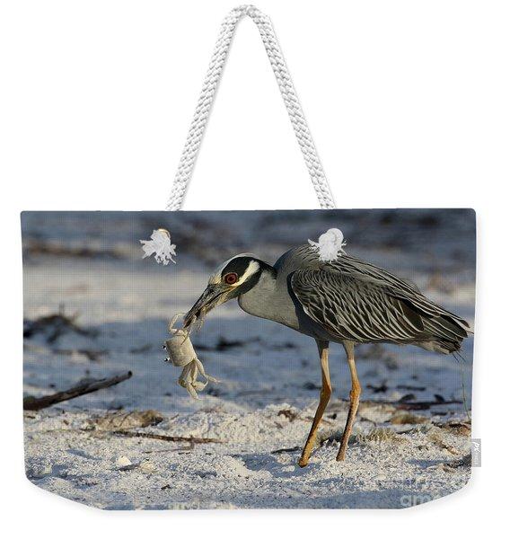 Crab For Breakfast Weekender Tote Bag