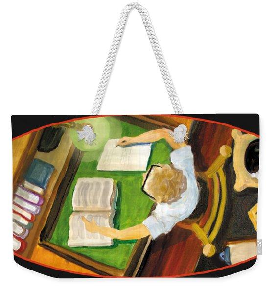 Crack'n The Books Weekender Tote Bag