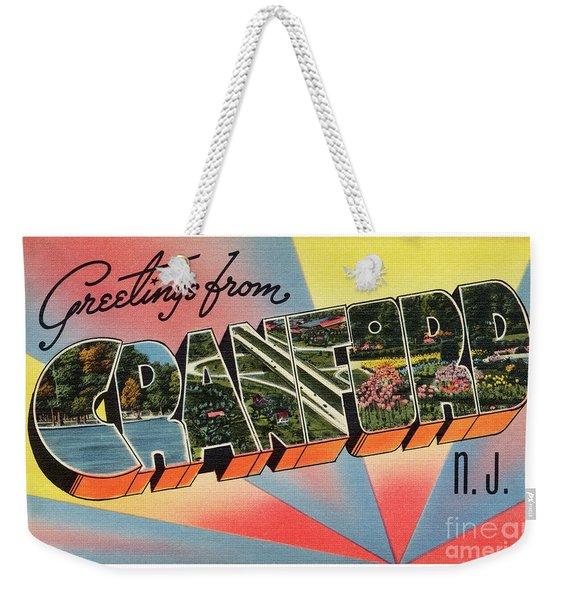 Cranford Greetings Weekender Tote Bag