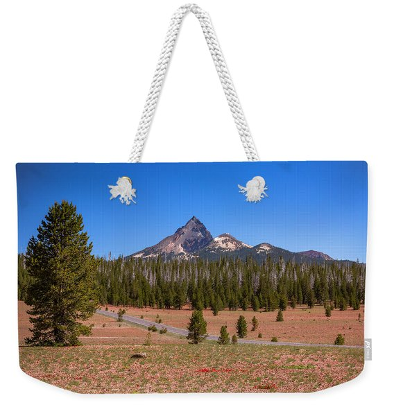 Crater Lake Np - Lightening Rod Of The Cascades Weekender Tote Bag