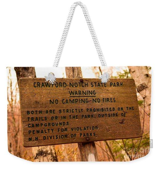 Crawford Notch Weekender Tote Bag