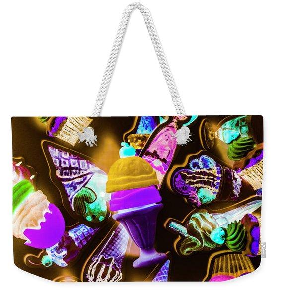 Creamery Creativity Weekender Tote Bag