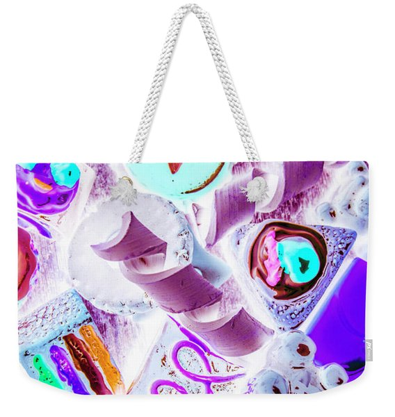 Creative Confectionary Weekender Tote Bag
