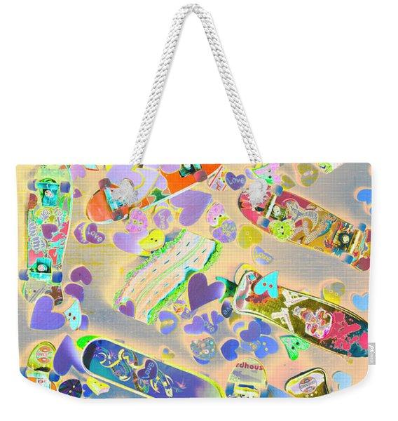 Creative Skate Weekender Tote Bag