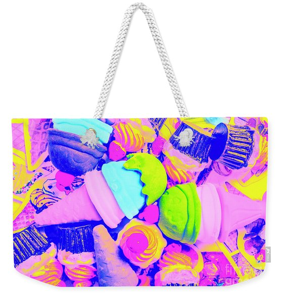 Creme De La Ice-cream Weekender Tote Bag