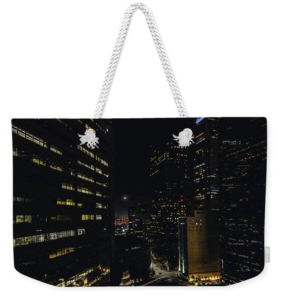 Crescent Moon Weekender Tote Bag