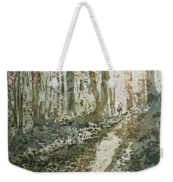 Cresting The Hill Weekender Tote Bag