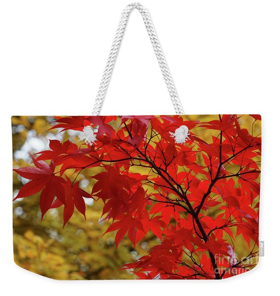 Crimson Queen Weekender Tote Bag