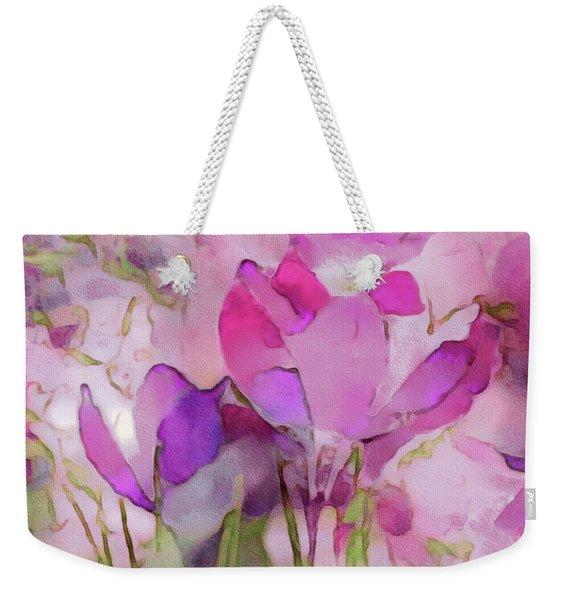 Crocus So Pink Weekender Tote Bag