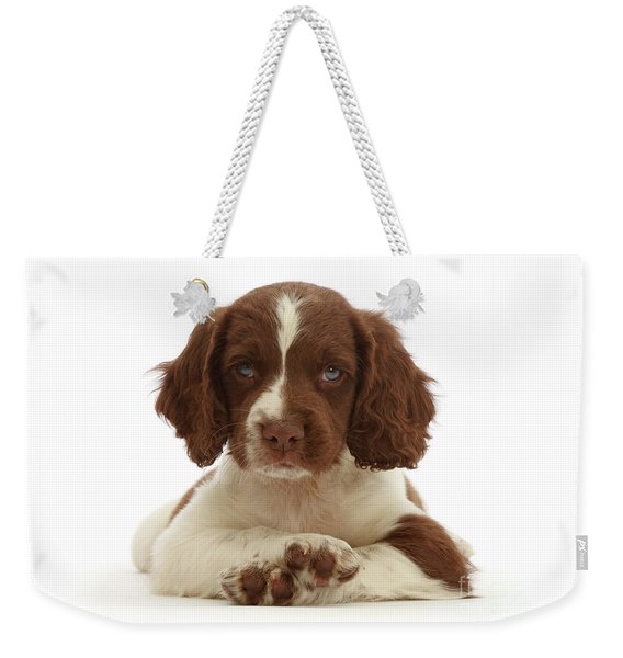 Cross Paws Weekender Tote Bag