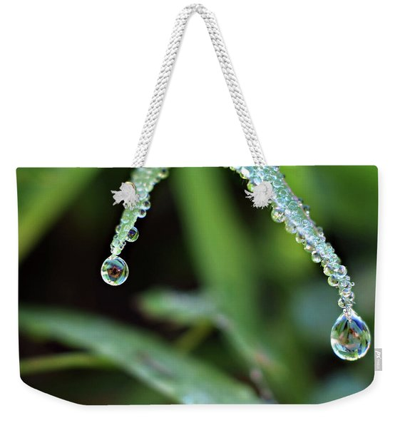 Weekender Tote Bag featuring the photograph Crossing Over by Michelle Wermuth