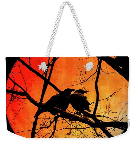 Crows Moon Weekender Tote Bag