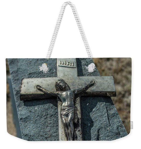 Crucifix Weekender Tote Bag