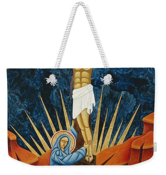 Crucifixion By Jodi Simmons Weekender Tote Bag