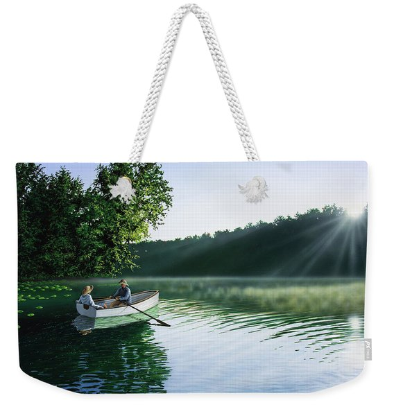 Cruise For Two Weekender Tote Bag
