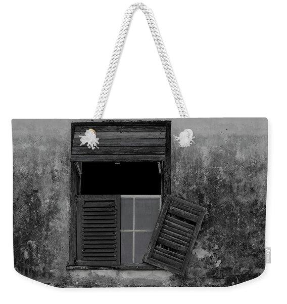 Crumblling Window Weekender Tote Bag