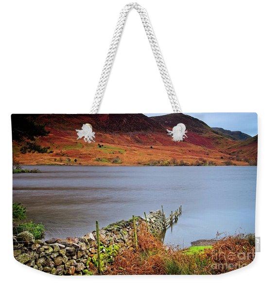 Crummock Water - English Lake District Weekender Tote Bag