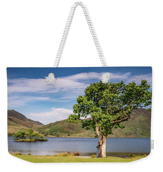Crummock Water View Weekender Tote Bag