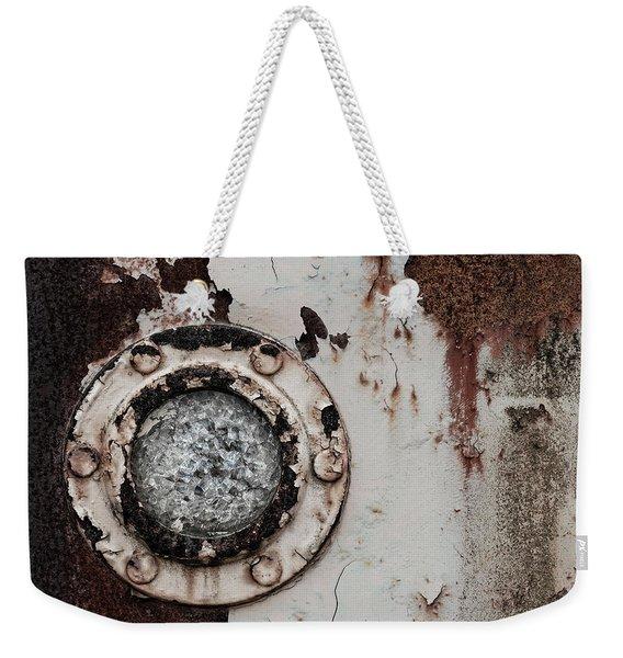 Crushed Glass Peeling Paint Weekender Tote Bag